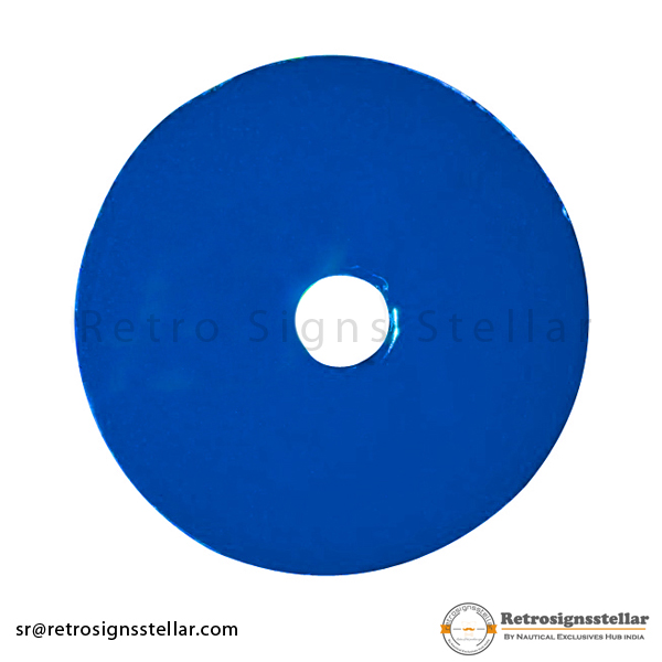 Blue Phase Plate in Transmission Line