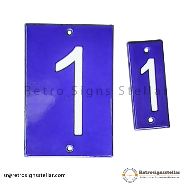 Single Number Transmission Line Plate