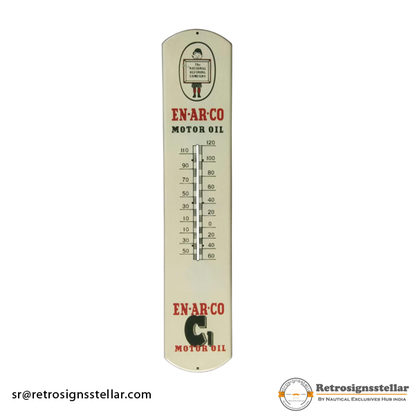 Vintage Thermometer Plate