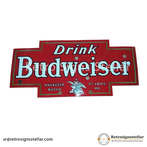 Advertising Porcelain Beer Signs